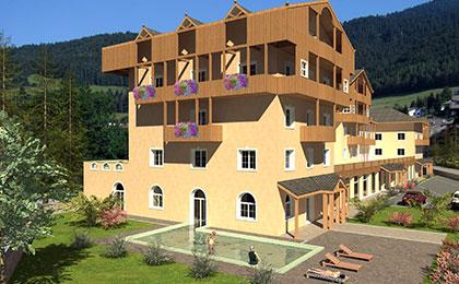 Hotel con centro wellness folgaria alpen hotel eghel - Folgaria hotel con piscina ...